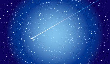 見ると願い事が叶うかも?とても綺麗な流れ星の高画質な画像をあつめました。